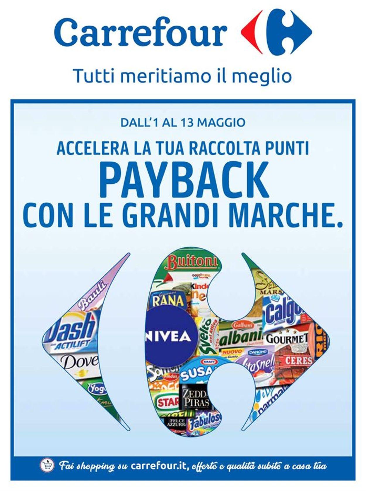 Volantino Carrefour - Offerte 01/05-13/05/2019