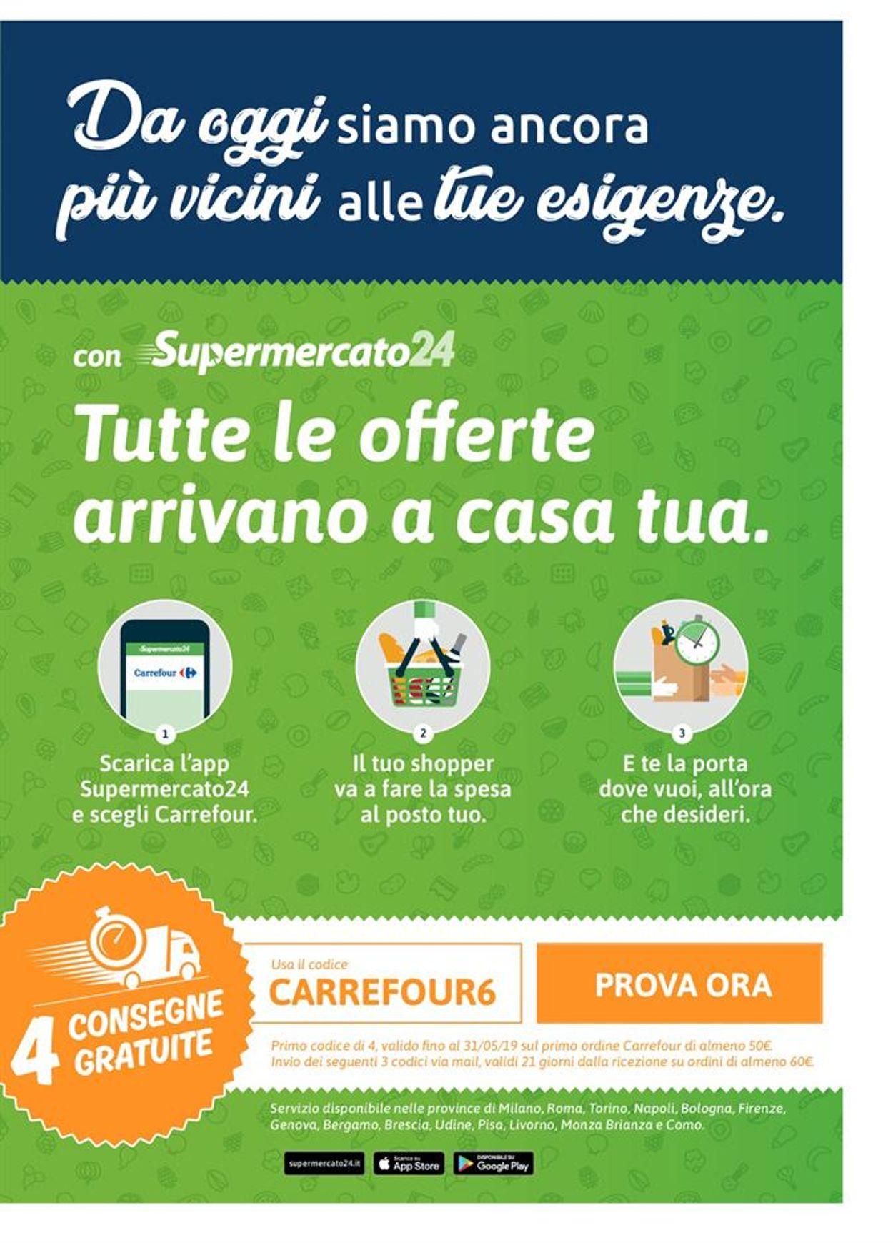Volantino Carrefour - Offerte 01/05-13/05/2019 (Pagina 22)