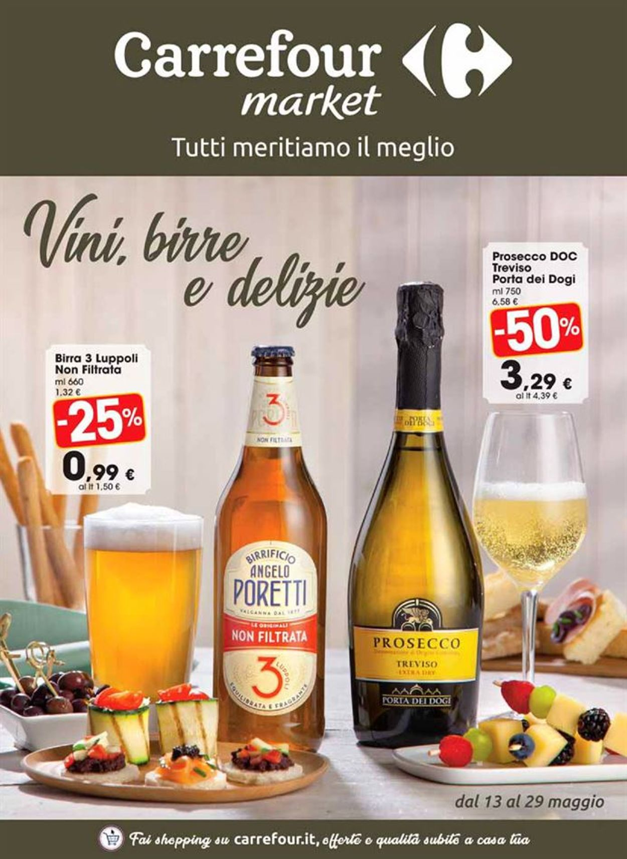 Volantino Carrefour - Offerte 13/05-29/05/2019