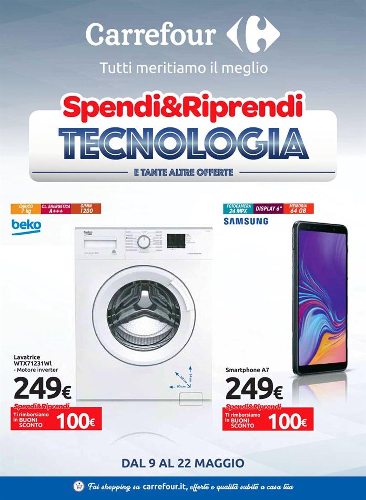 Volantino Carrefour - Offerte 09/05-22/05/2019