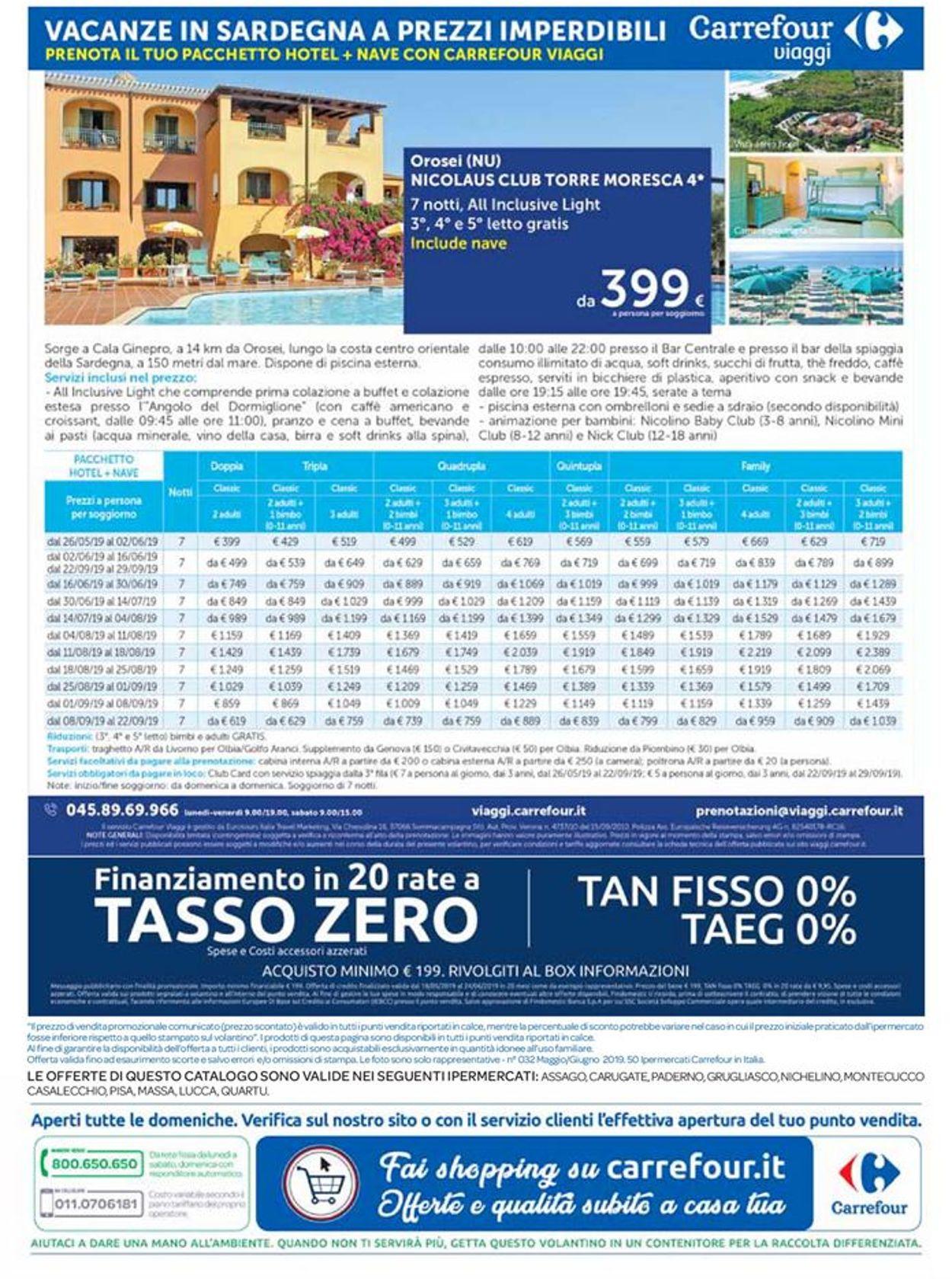 Volantino Carrefour - Offerte 18/05-24/06/2019 (Pagina 48)