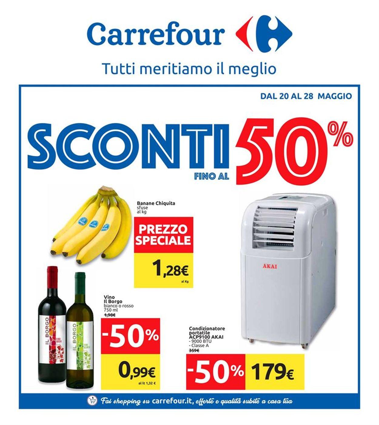 Volantino Carrefour - Offerte 20/05-28/05/2019