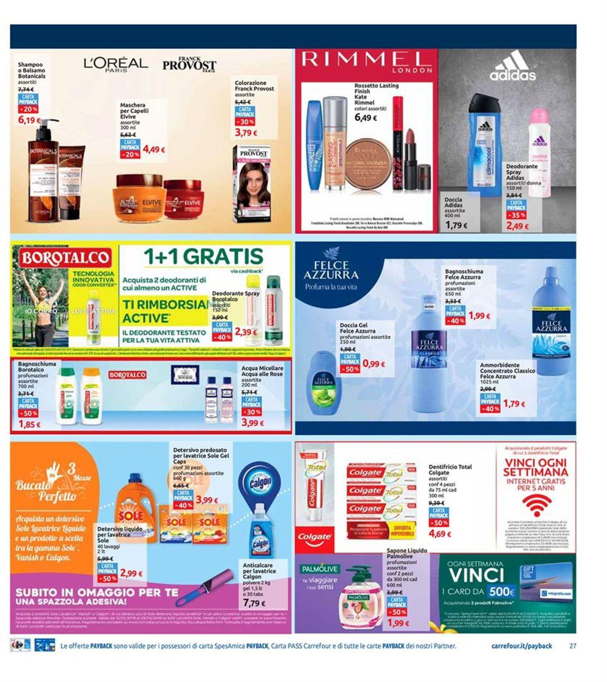 Volantino Carrefour - Offerte 20/05-28/05/2019 (Pagina 27)