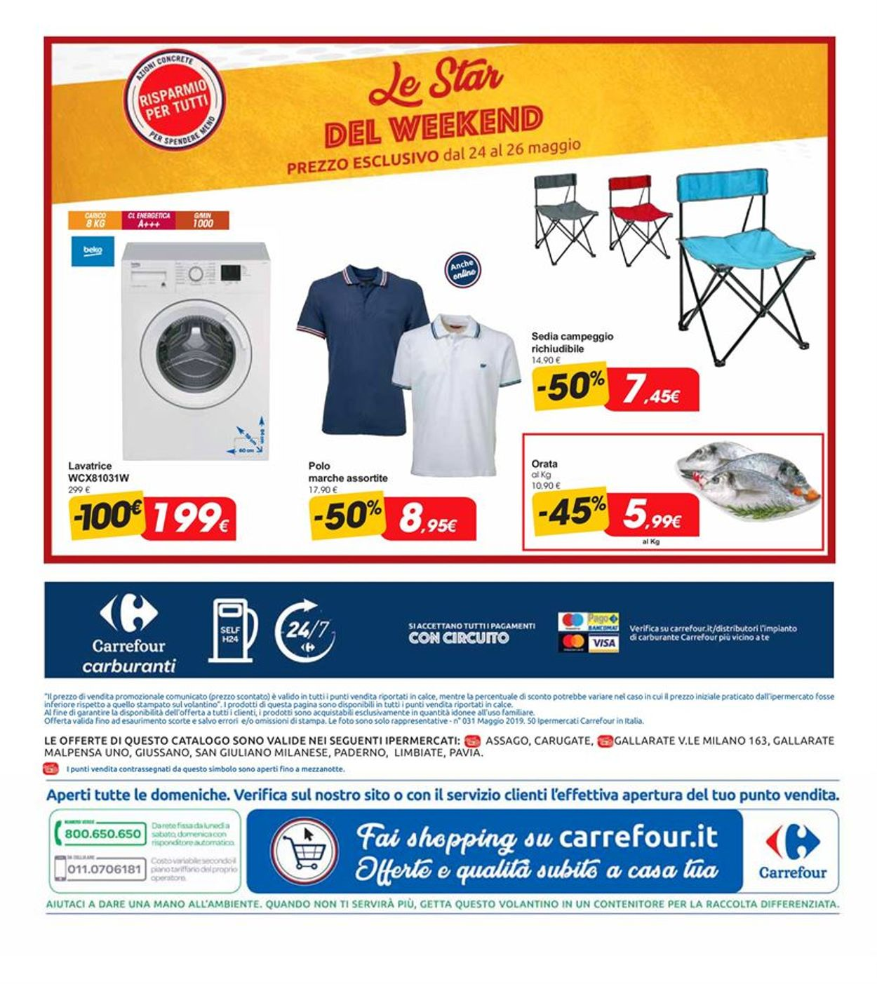 Volantino Carrefour - Offerte 20/05-28/05/2019 (Pagina 28)