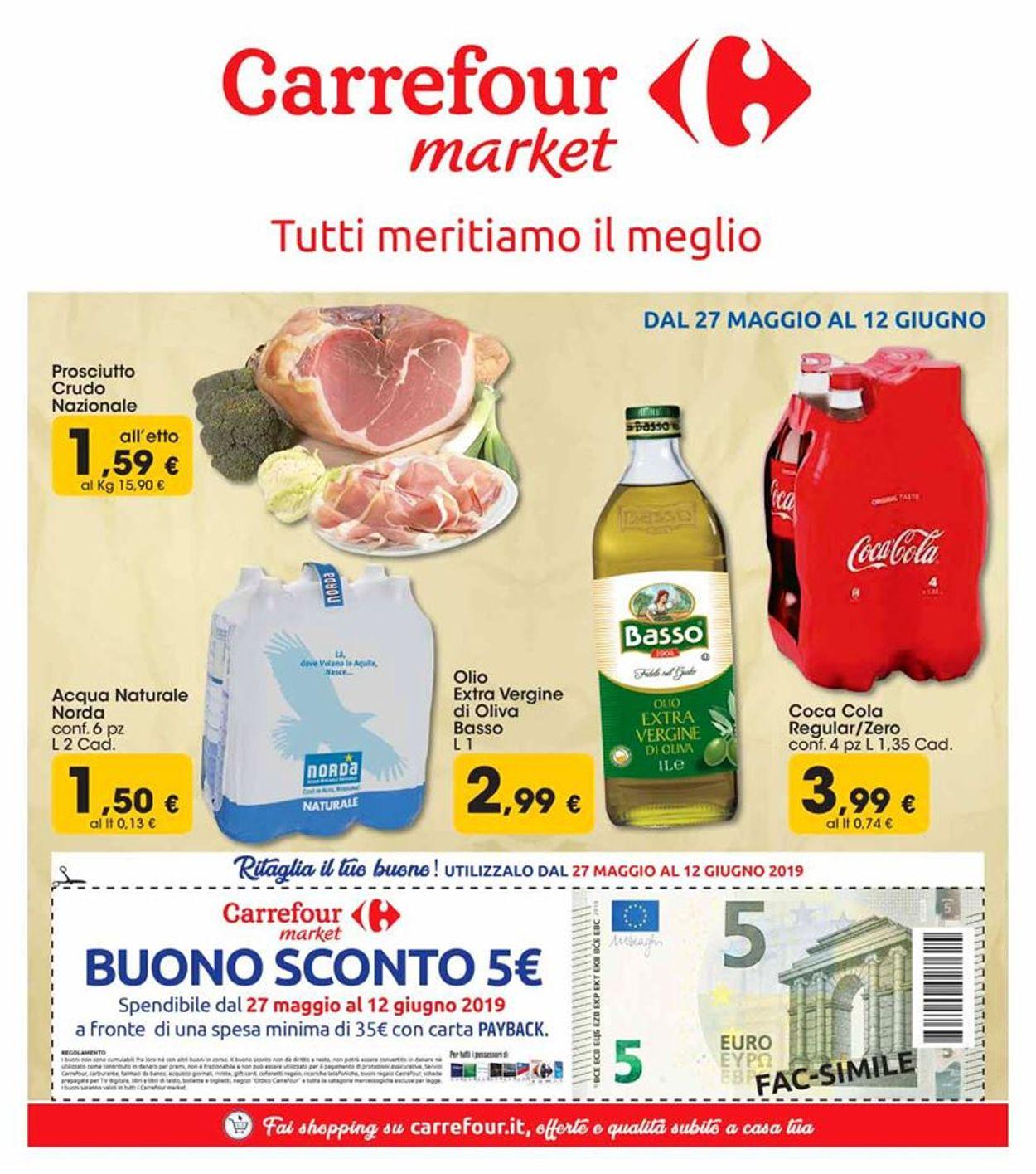 Volantino Carrefour - Offerte 27/05-12/06/2019
