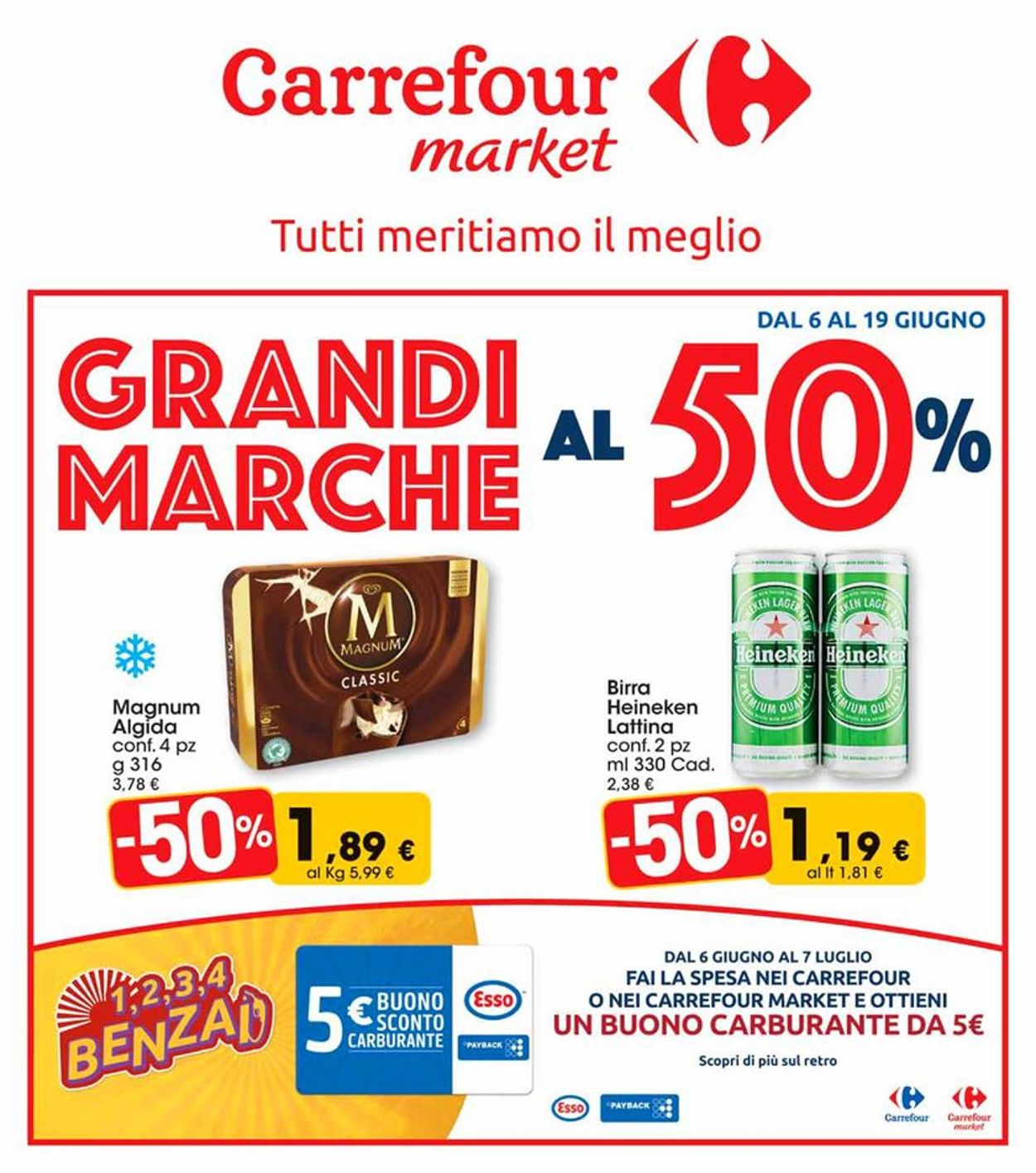 Volantino Carrefour - Offerte 06/06-19/06/2019