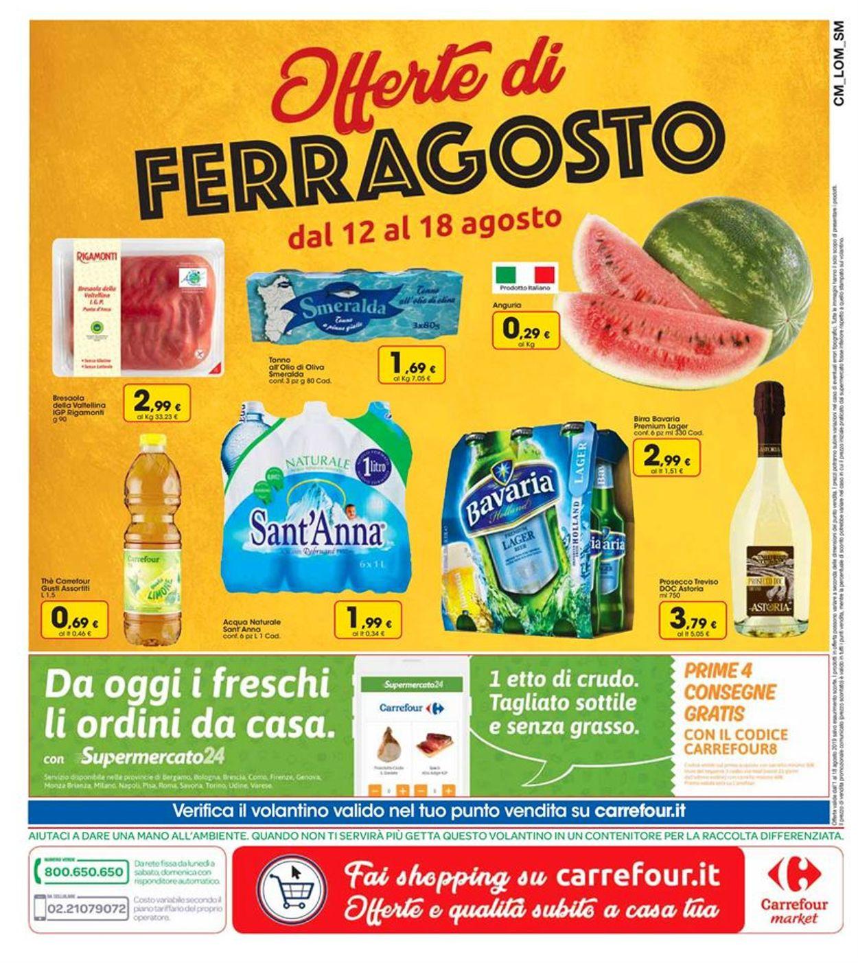 Volantino Carrefour - Offerte 01/08-18/08/2019 (Pagina 20)