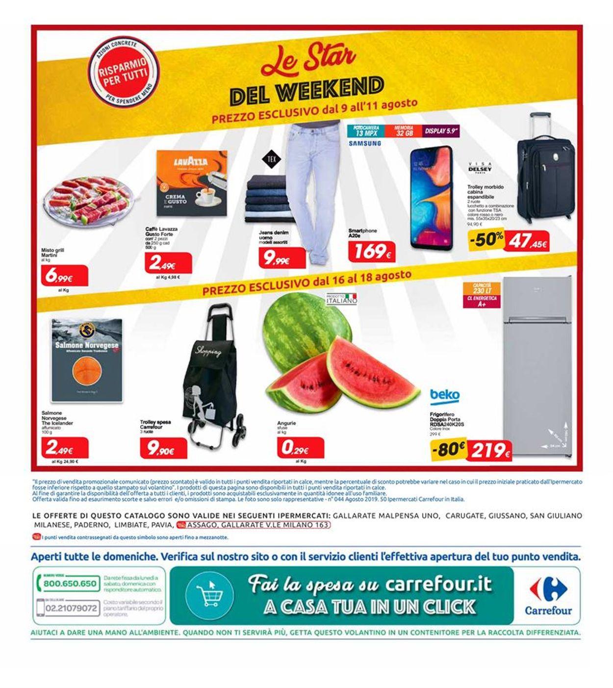 Volantino Carrefour - Offerte 09/08-20/08/2019 (Pagina 24)