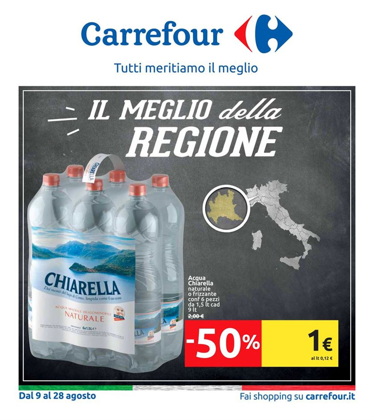 Volantino Carrefour - Offerte 09/08-28/08/2019