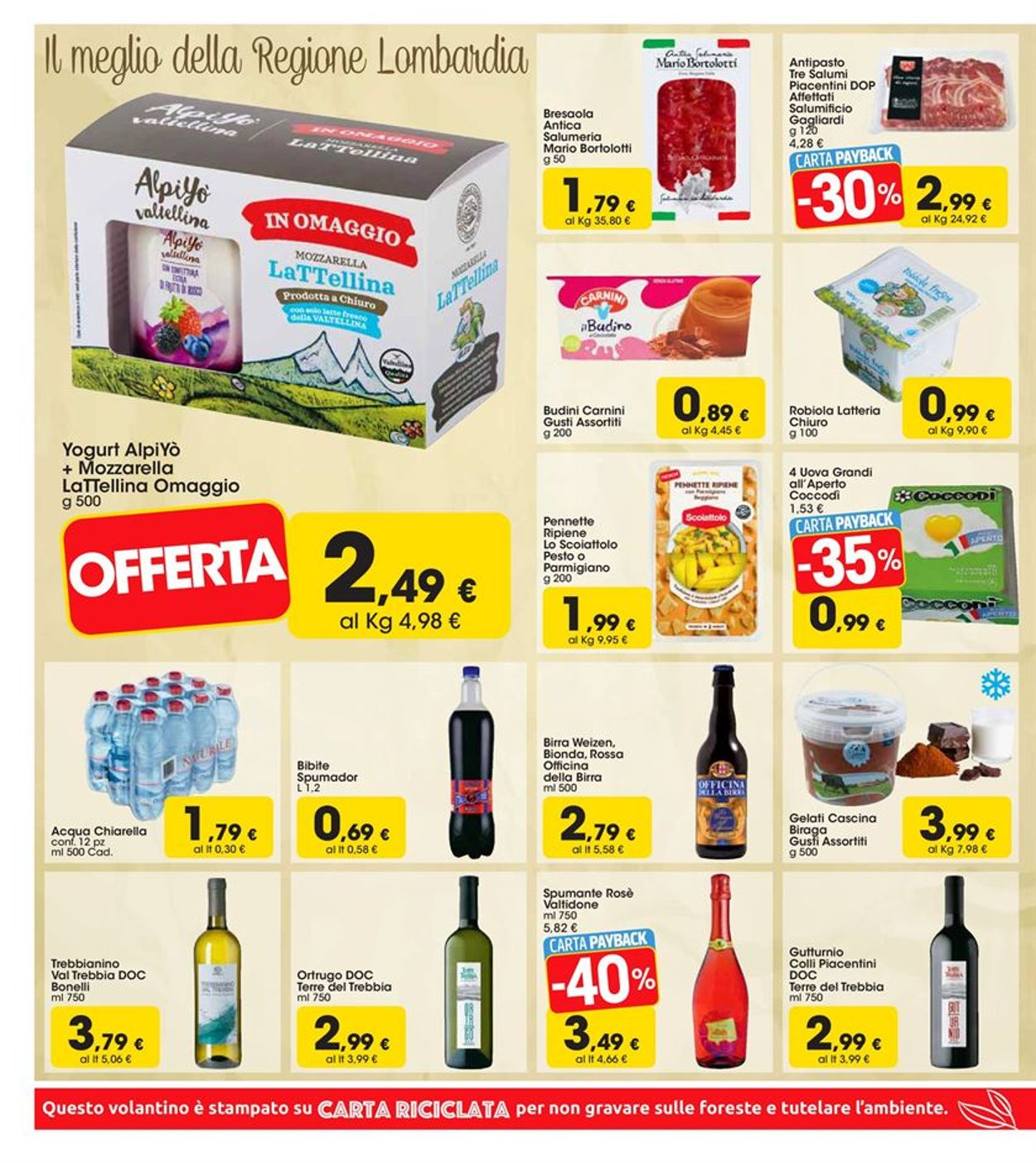 Volantino Carrefour - Offerte 19/08-01/09/2019 (Pagina 6)