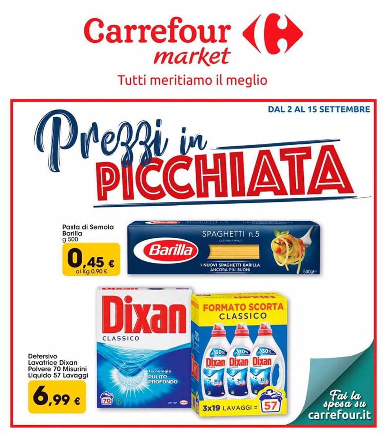 Volantino Carrefour - Offerte 02/09-15/09/2019