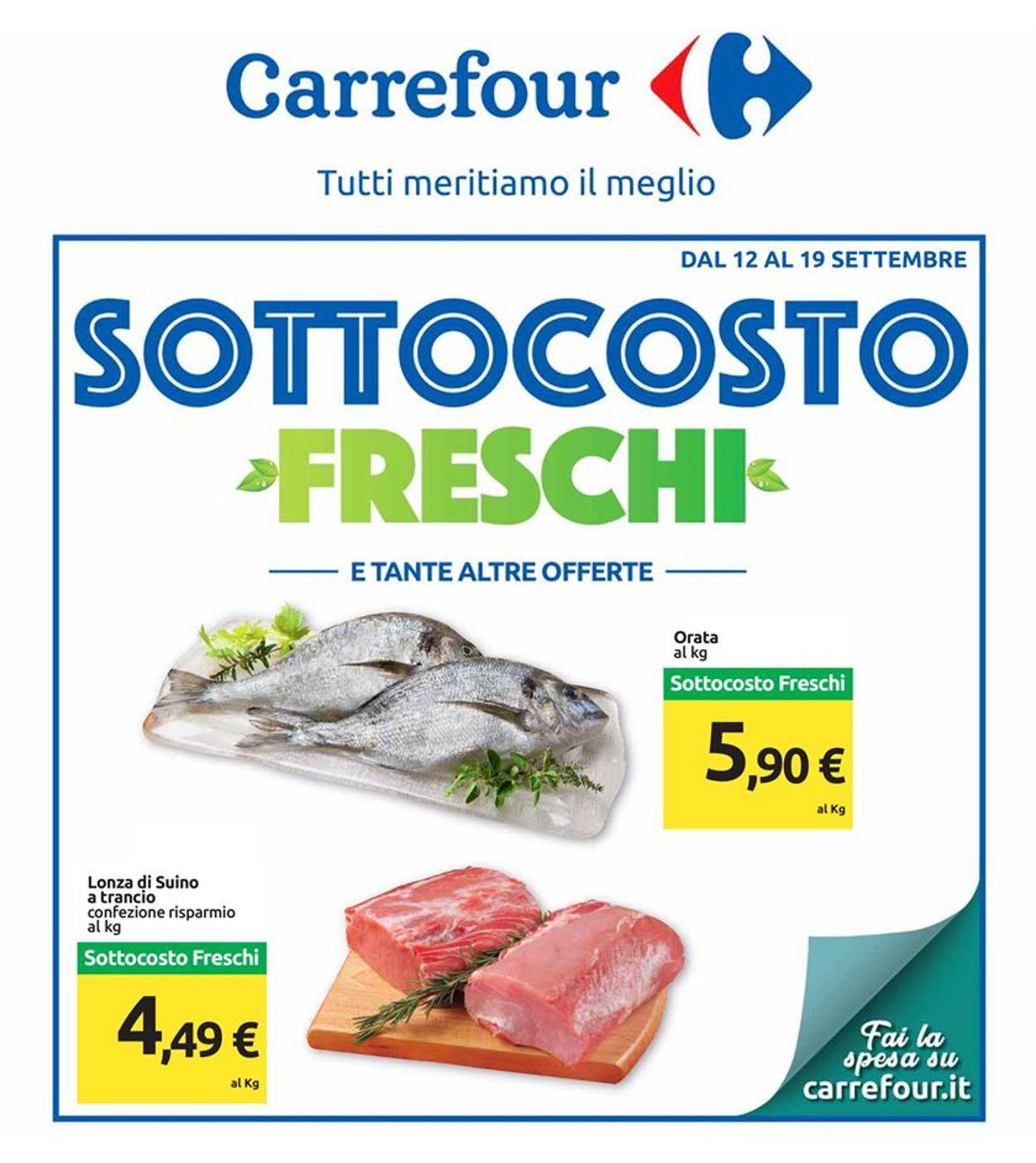 Volantino Carrefour - Offerte 12/09-19/09/2019