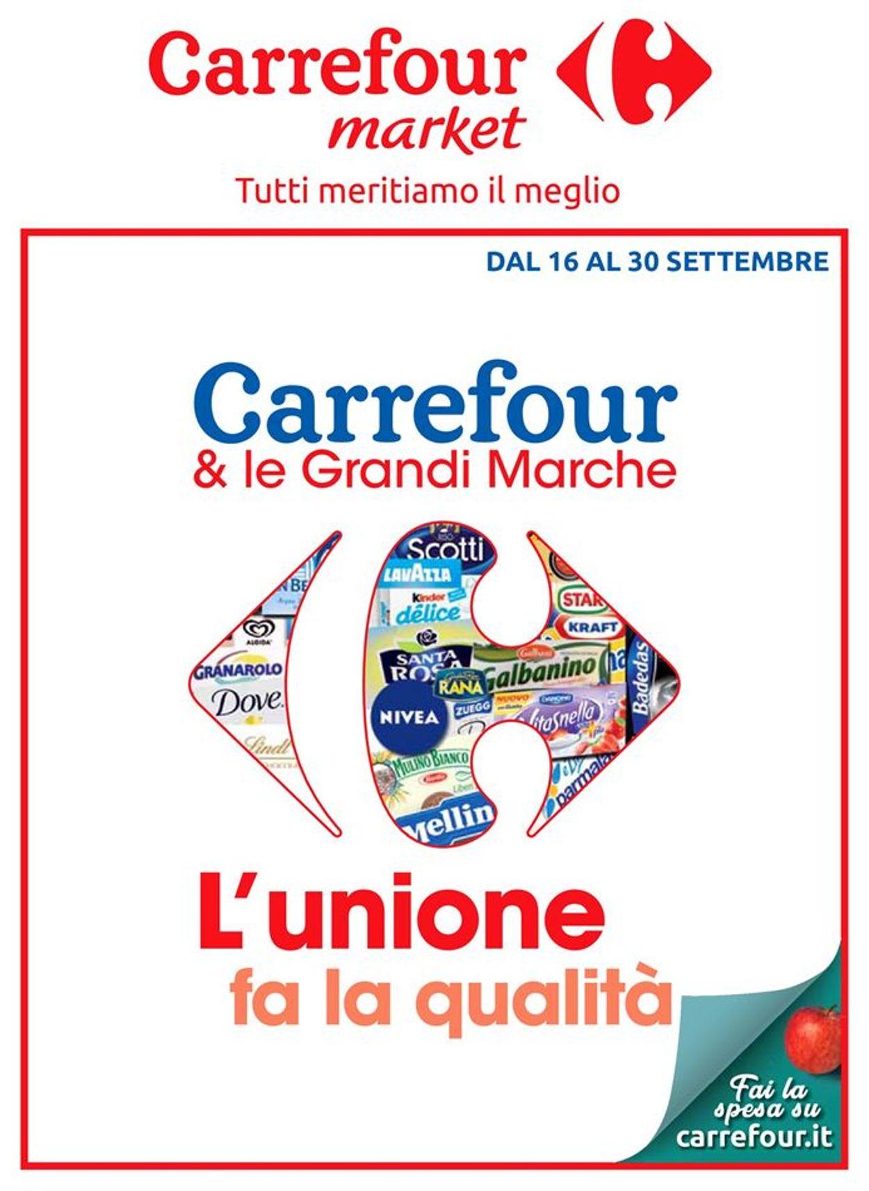 Volantino Carrefour - Offerte 16/09-30/09/2019