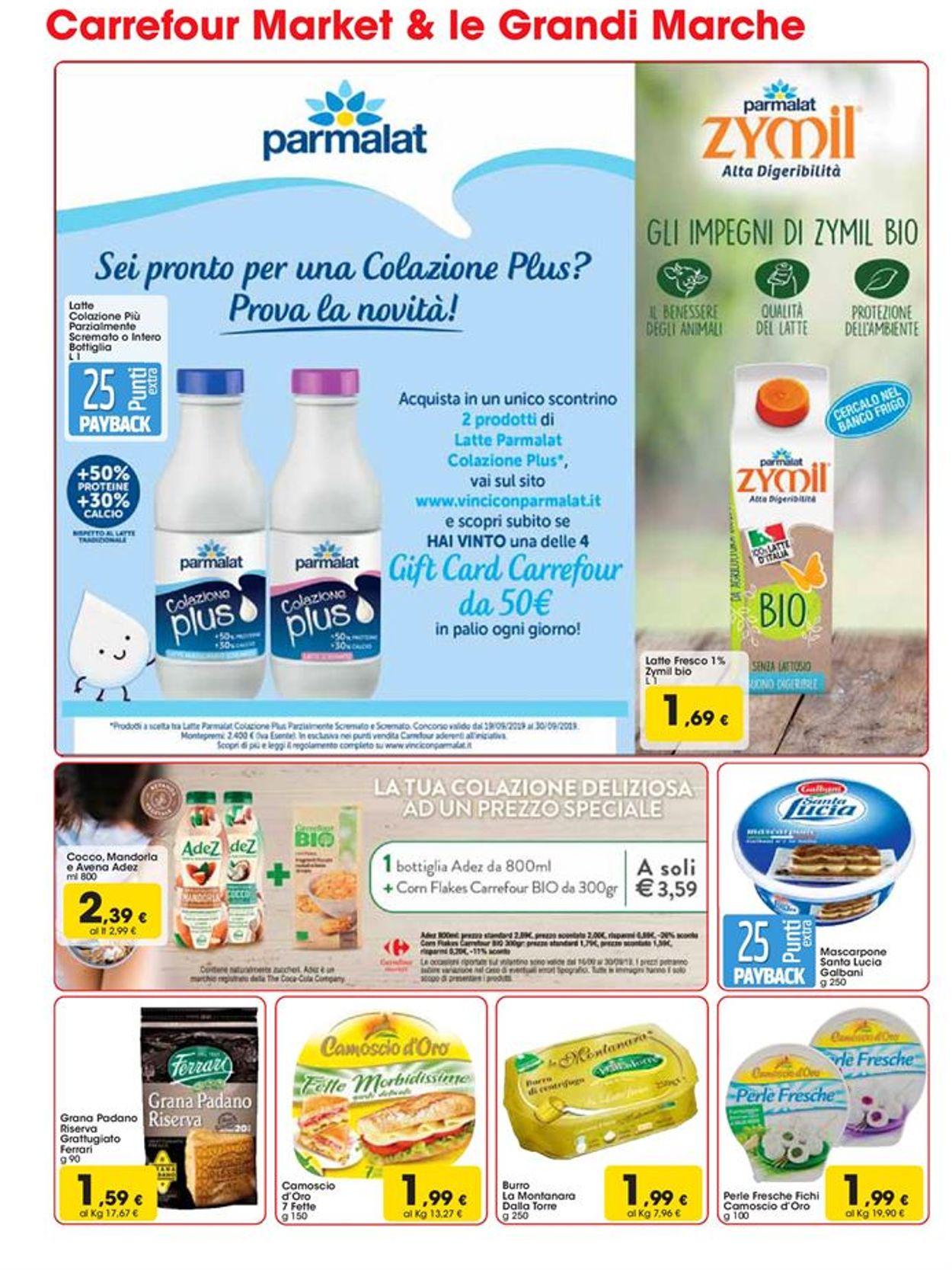 Volantino Carrefour - Offerte 16/09-30/09/2019 (Pagina 2)