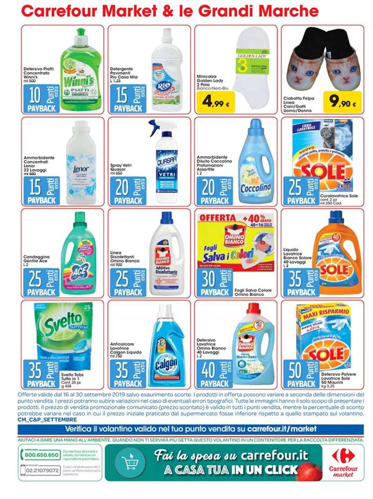 Volantino Carrefour - Offerte 16/09-30/09/2019 (Pagina 12)