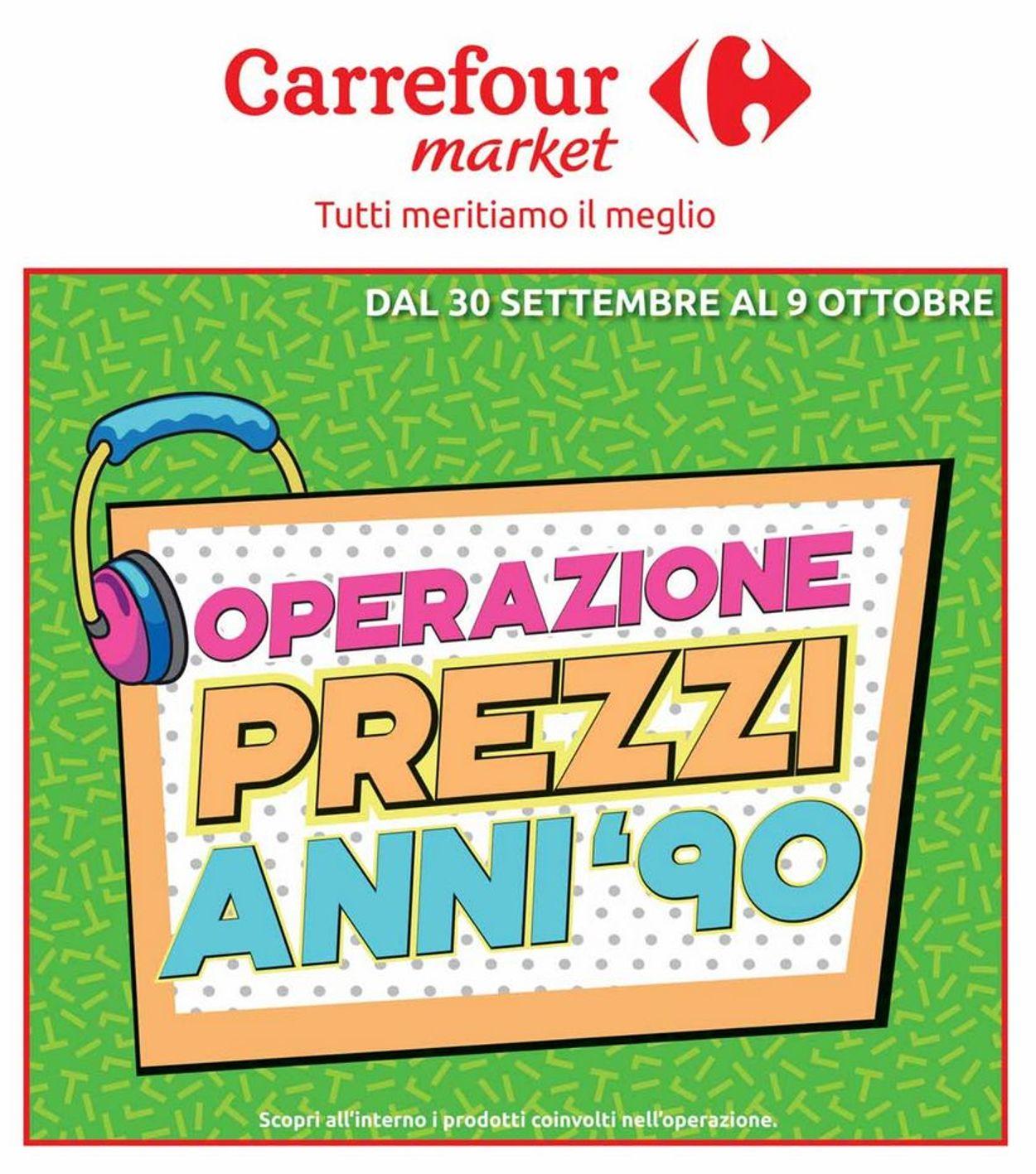 Volantino Carrefour - Offerte 30/09-09/10/2019