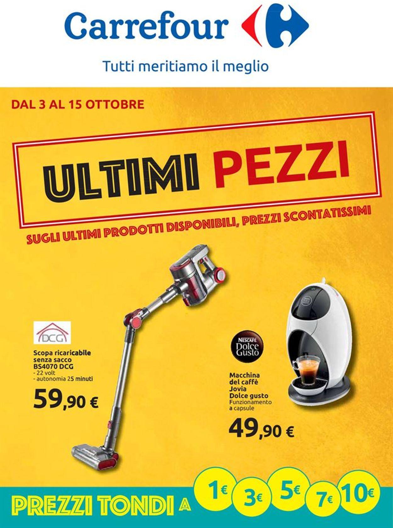 Volantino Carrefour - Offerte 03/10-15/10/2019