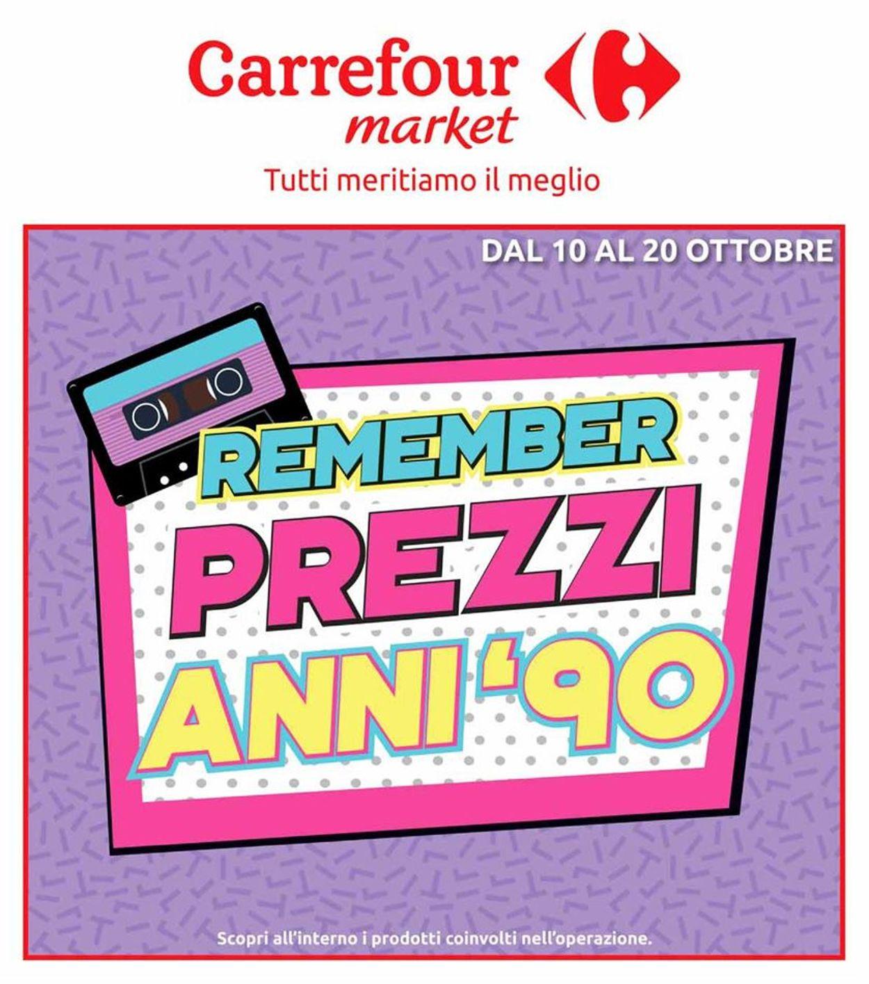 Volantino Carrefour - Offerte 10/10-20/10/2019