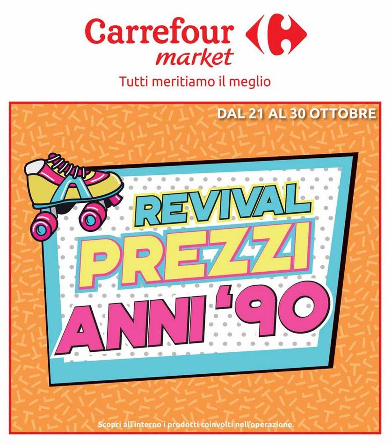 Volantino Carrefour - Offerte 21/10-30/10/2019