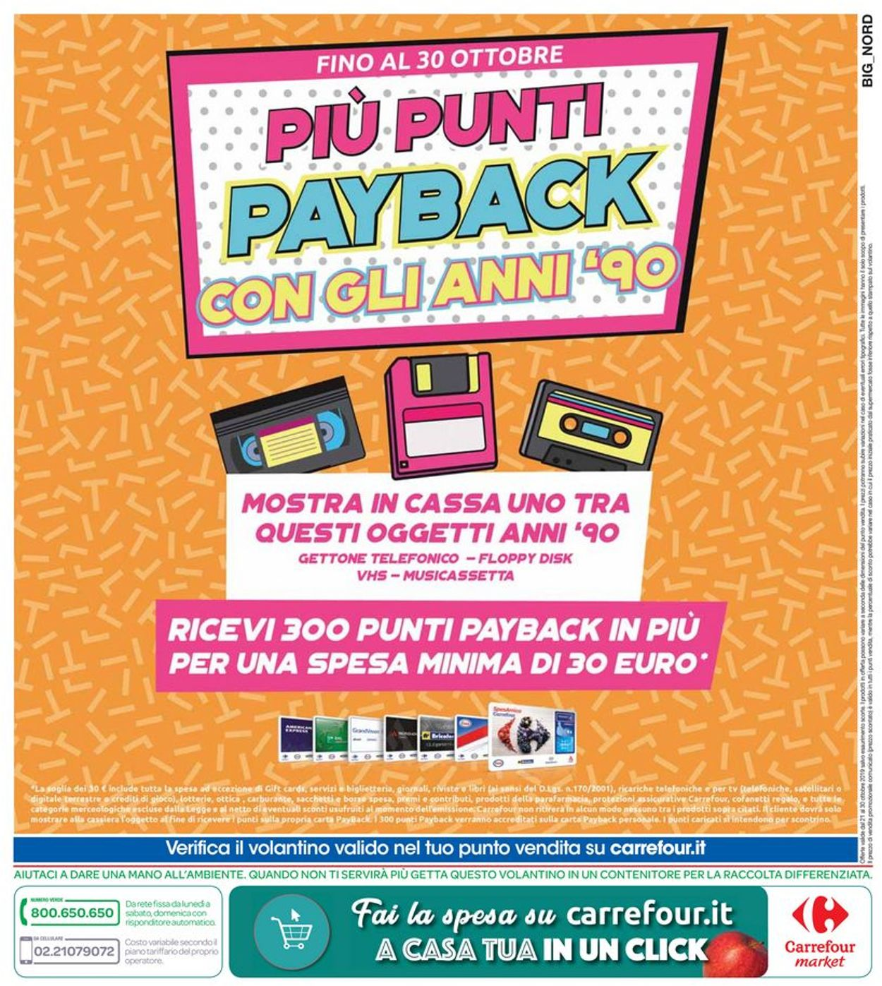 Volantino Carrefour - Offerte 21/10-30/10/2019 (Pagina 26)