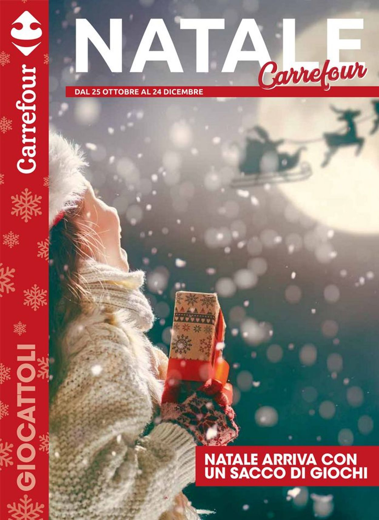 Volantino Carrefour - Offerte 25/10-24/12/2019