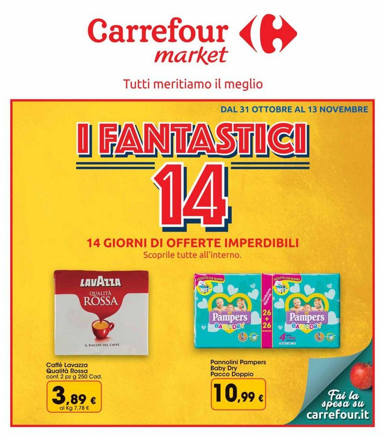 Volantino Carrefour - Offerte 31/10-13/11/2019