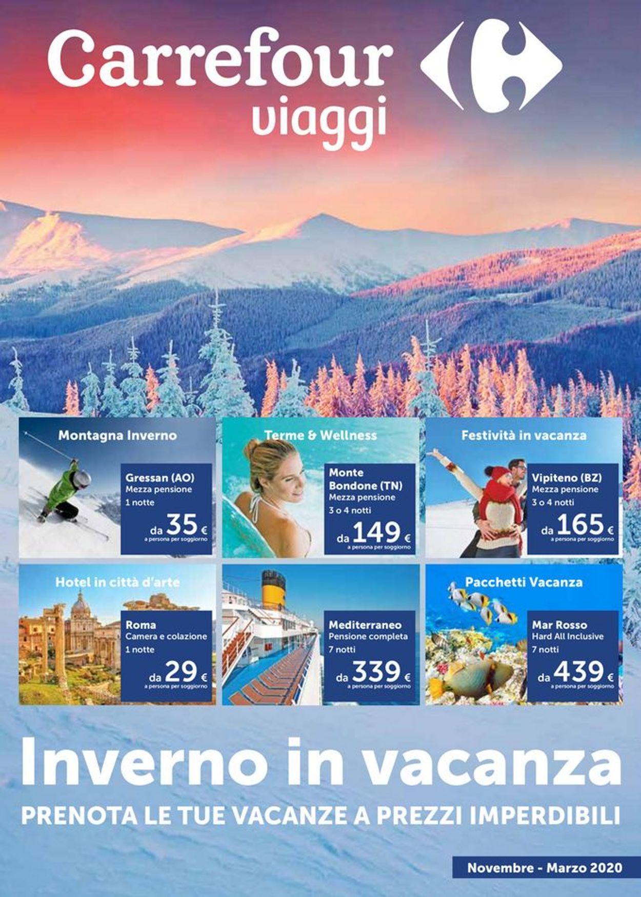 Volantino Carrefour - Offerte 01/11-31/03/2020