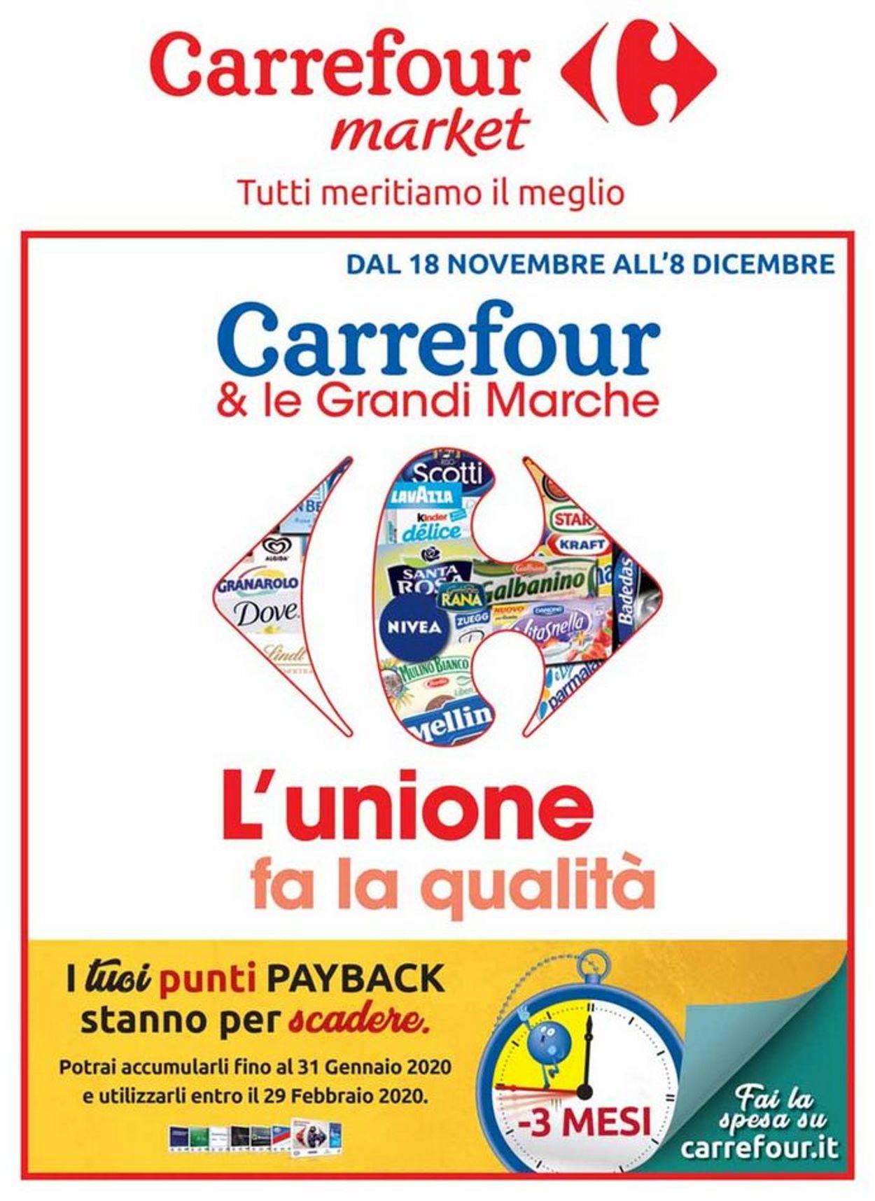 Volantino Carrefour - Offerte 18/11-08/12/2019