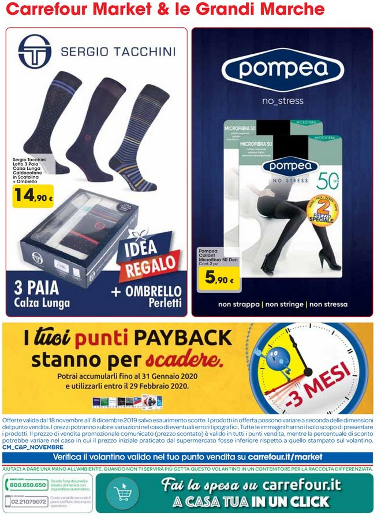 Volantino Carrefour - Offerte 18/11-08/12/2019 (Pagina 12)