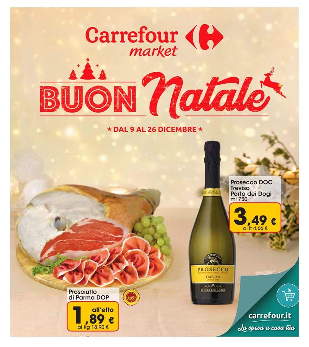 Volantino Carrefour - catalogue de Noël 2019 - Offerte 09/12-26/12/2019
