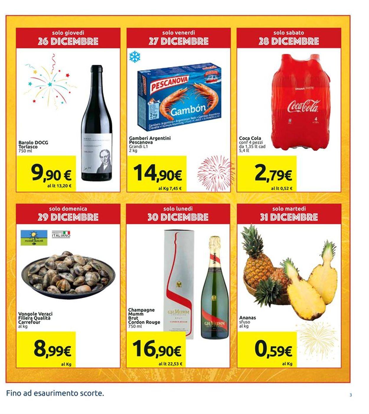 Volantino Il volantino natalizio di Carrefour - Offerte 21/12-01/01/2020 (Pagina 3)