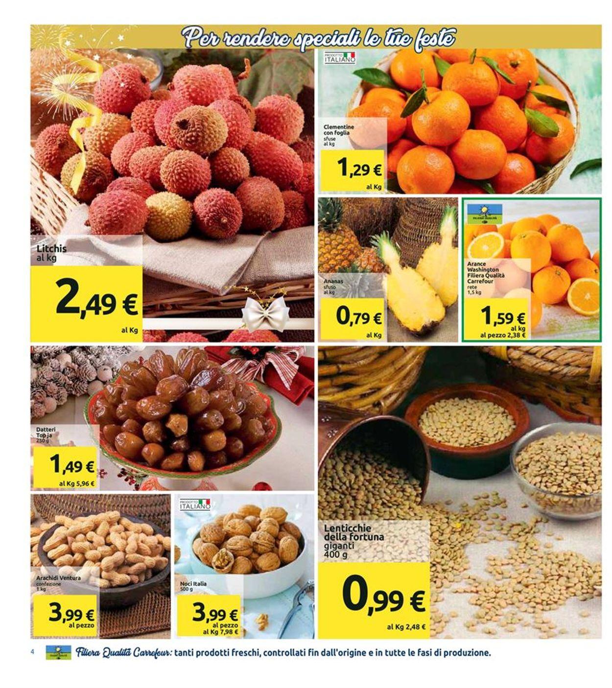 Volantino Il volantino natalizio di Carrefour - Offerte 21/12-01/01/2020 (Pagina 4)