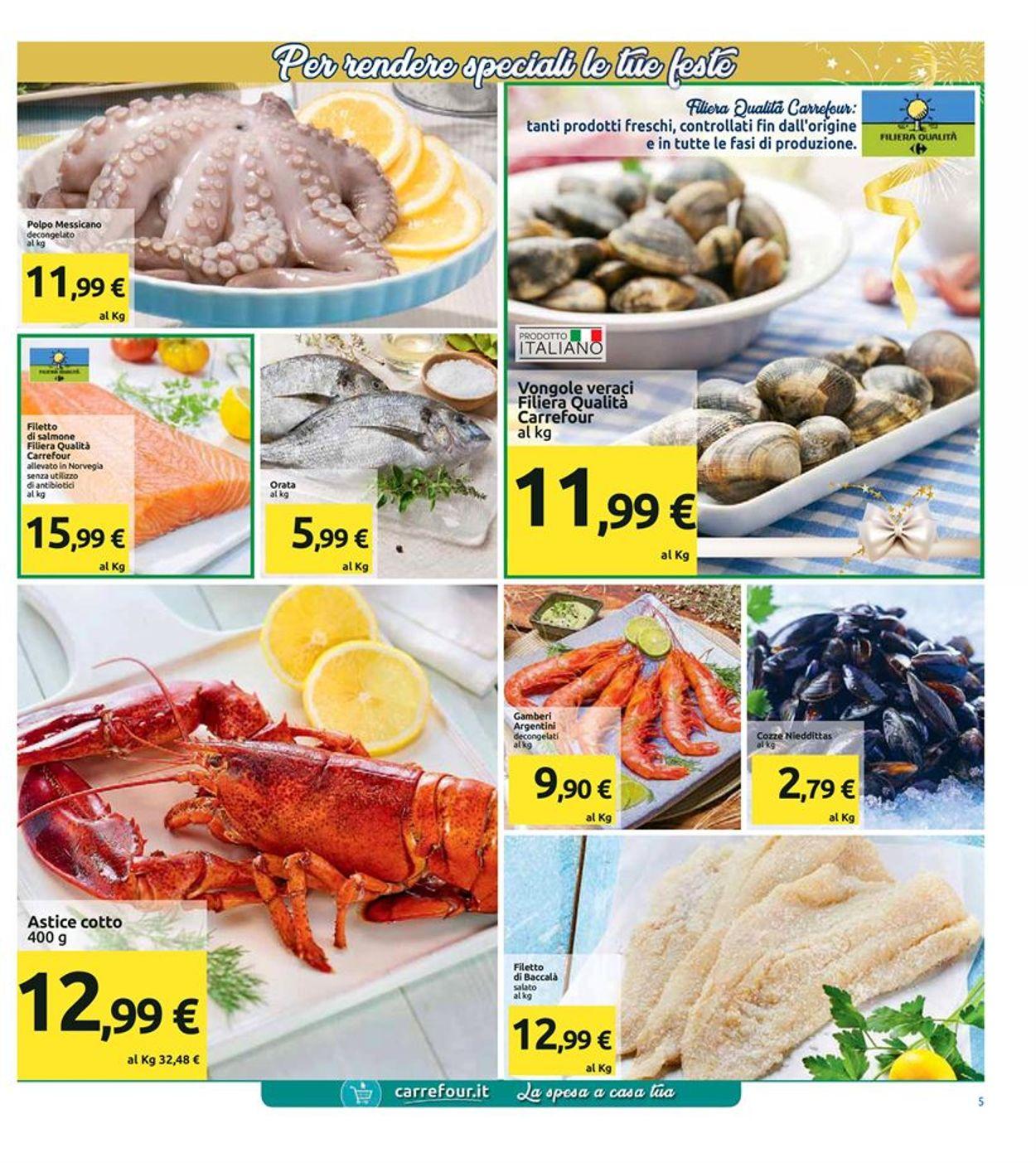Volantino Il volantino natalizio di Carrefour - Offerte 21/12-01/01/2020 (Pagina 5)