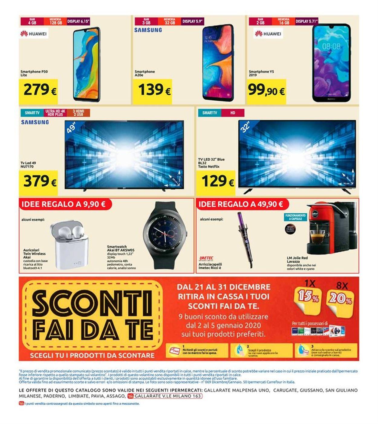 Volantino Il volantino natalizio di Carrefour - Offerte 21/12-01/01/2020 (Pagina 26)
