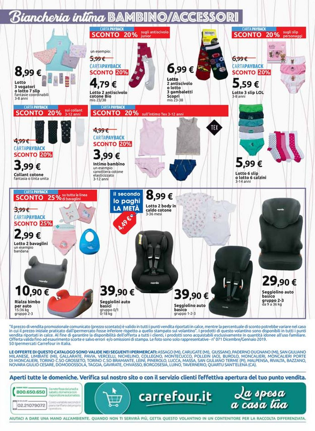 Volantino Carrefour - Offerte 27/12-19/01/2020 (Pagina 6)