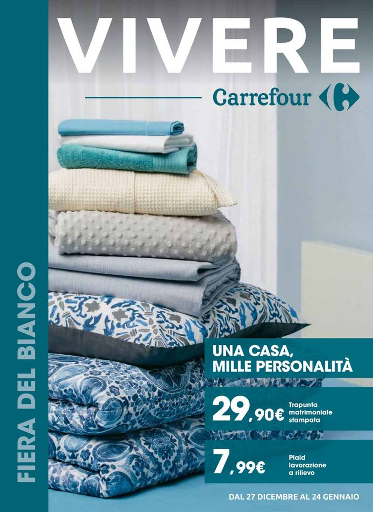 Volantino Carrefour - Offerte 27/12-24/01/2020