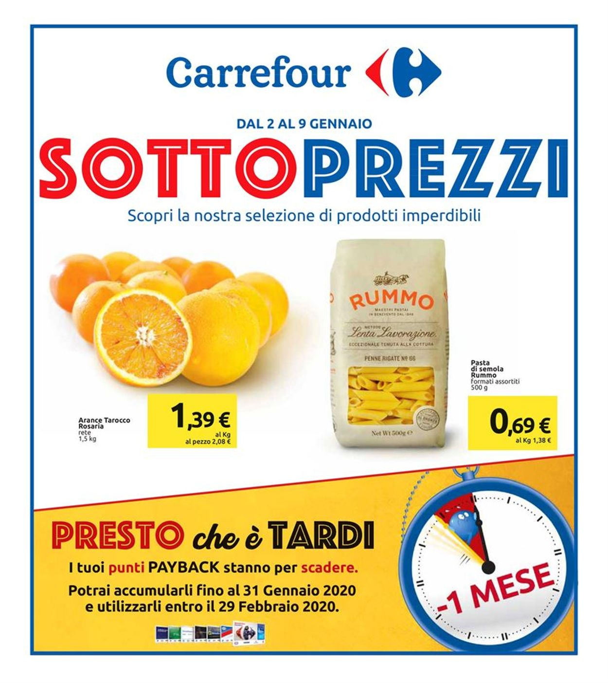 Volantino Carrefour - Offerte 02/01-09/01/2020