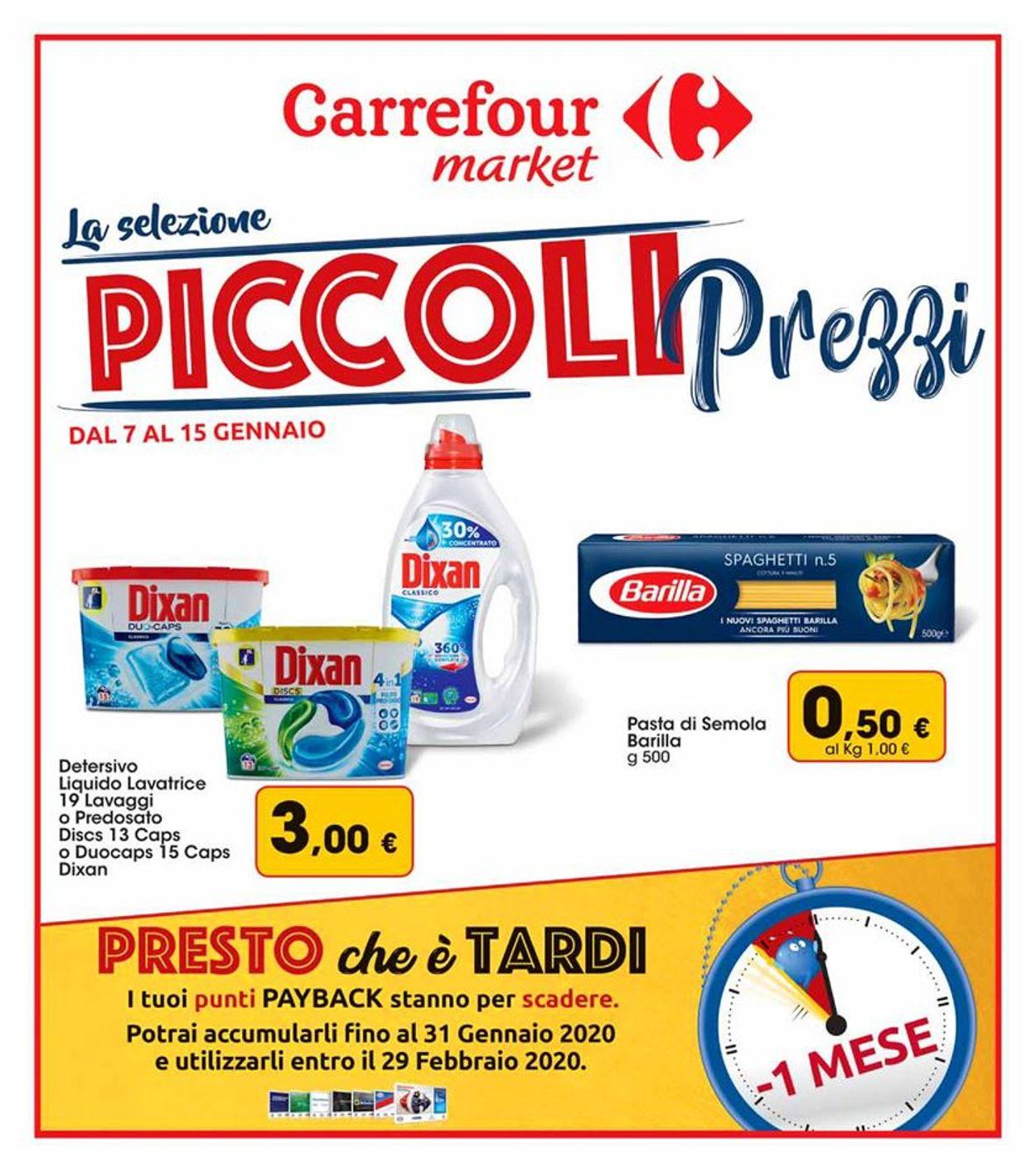 Volantino Carrefour - Offerte 07/01-15/01/2020