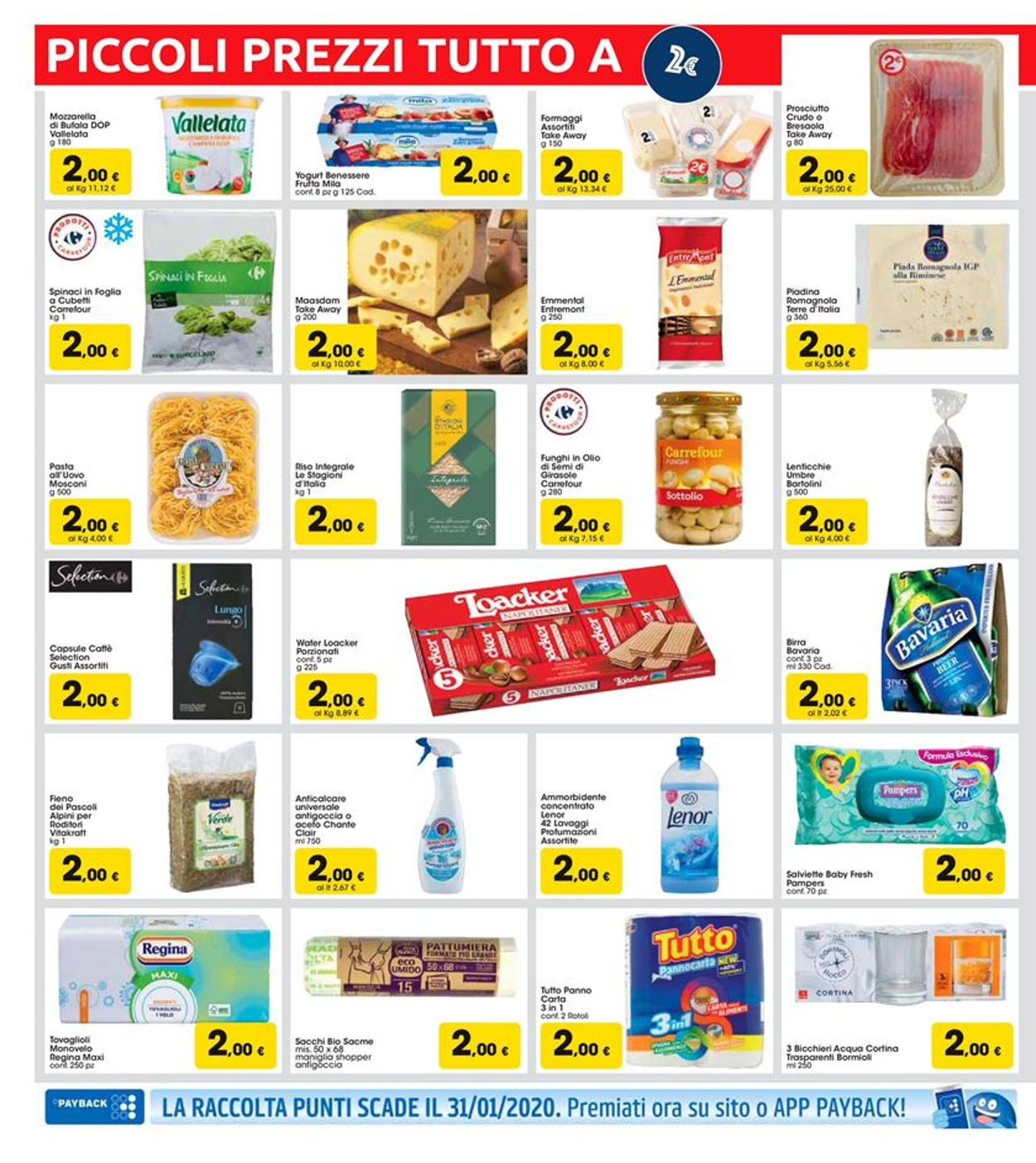 Volantino Carrefour - Offerte 07/01-15/01/2020 (Pagina 4)