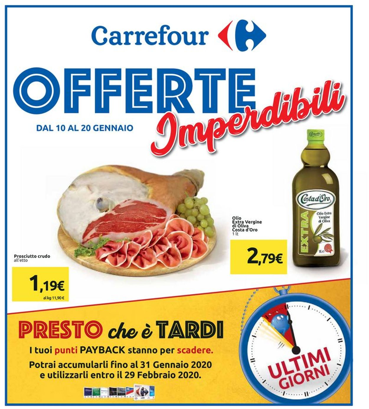 Volantino Carrefour - Offerte 10/01-20/01/2020