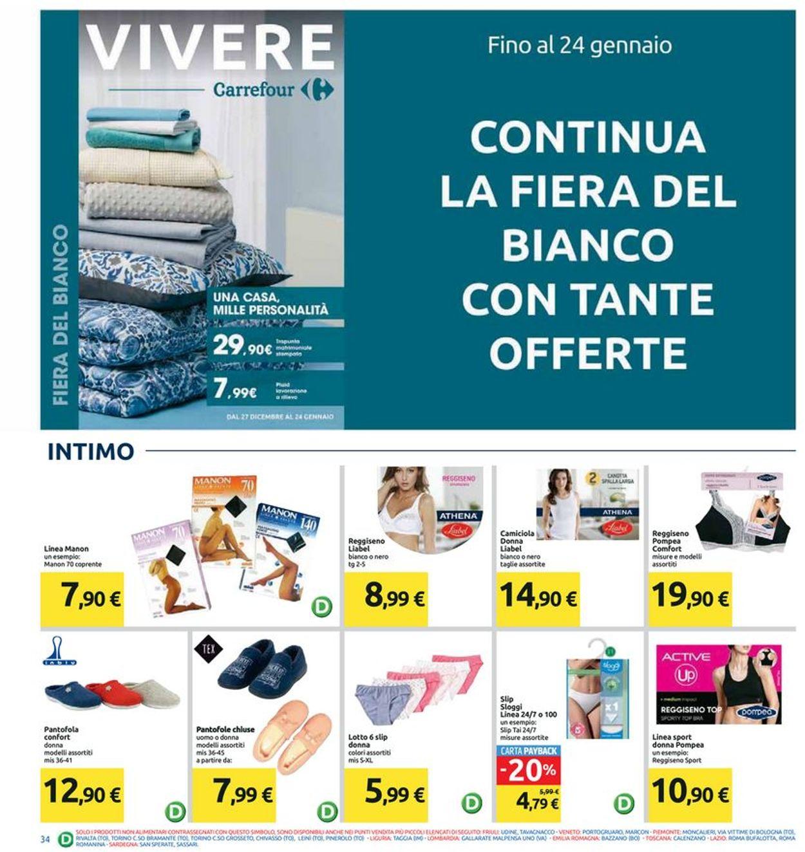 Volantino Carrefour - Offerte 10/01-20/01/2020 (Pagina 34)