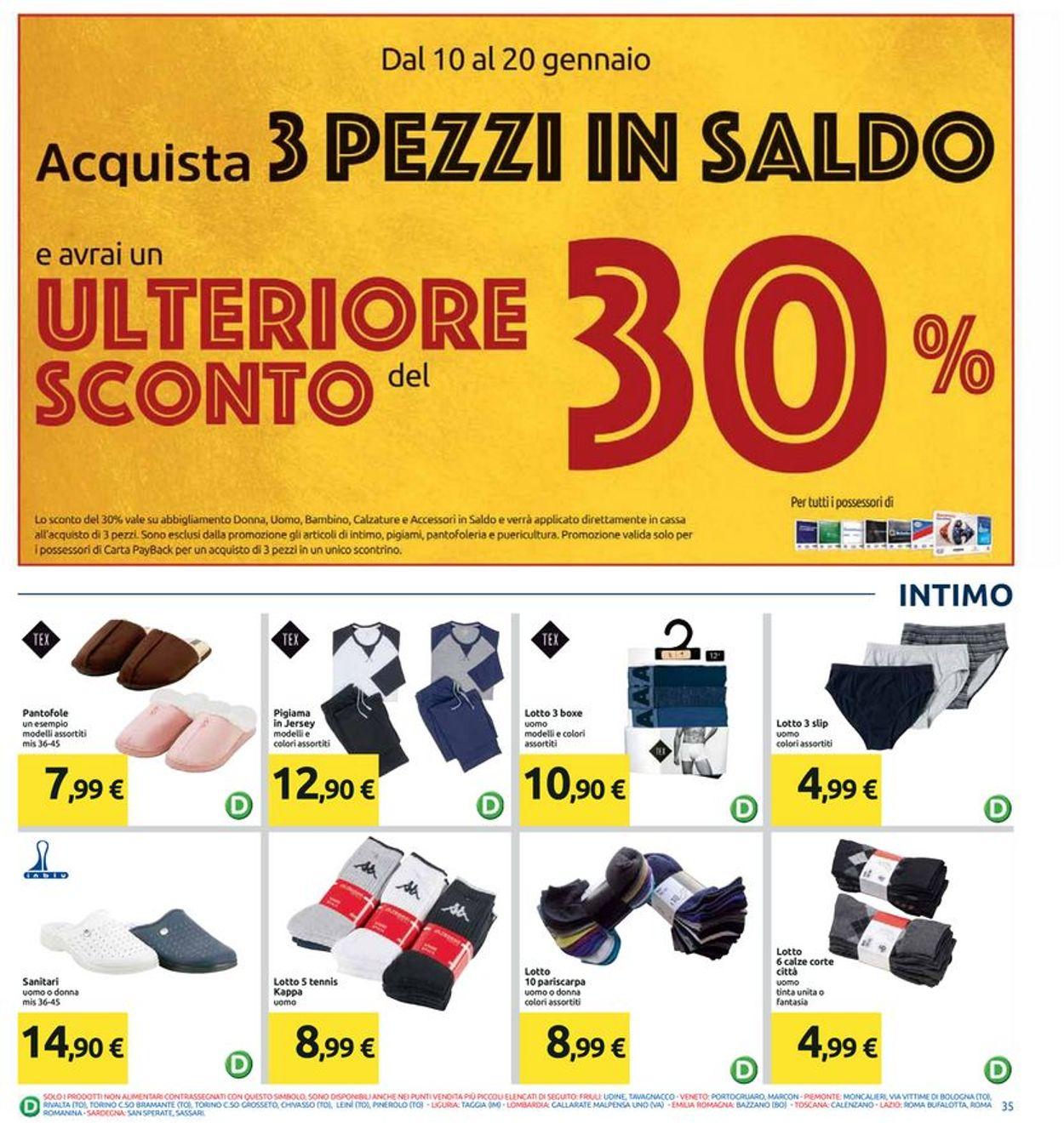 Volantino Carrefour - Offerte 10/01-20/01/2020 (Pagina 35)