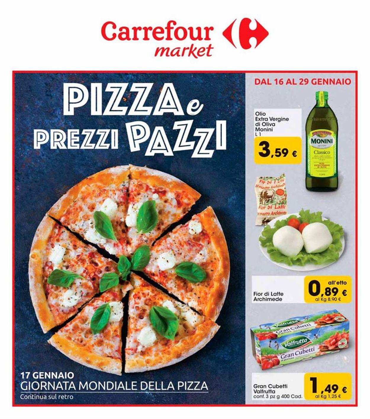 Volantino Carrefour - Offerte 16/01-29/01/2020