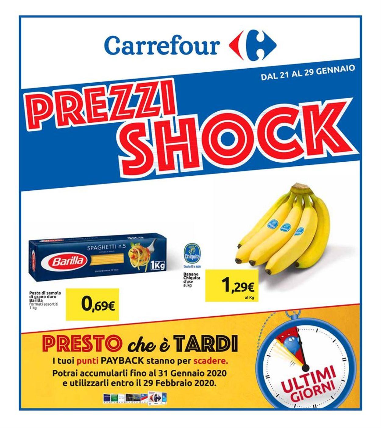 Volantino Carrefour - Offerte 21/01-29/01/2020