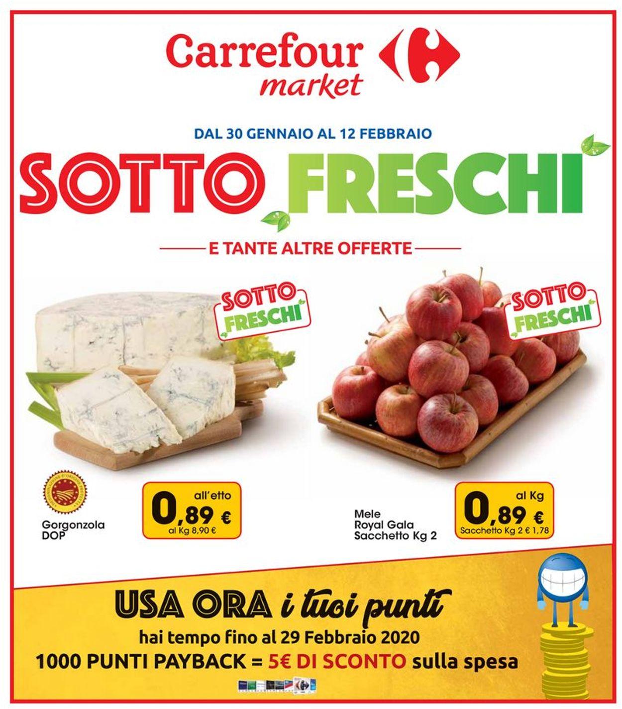 Volantino Carrefour - Offerte 30/01-12/02/2020