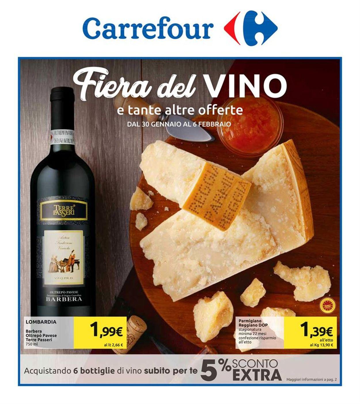 Volantino Carrefour - Offerte 30/01-06/02/2020