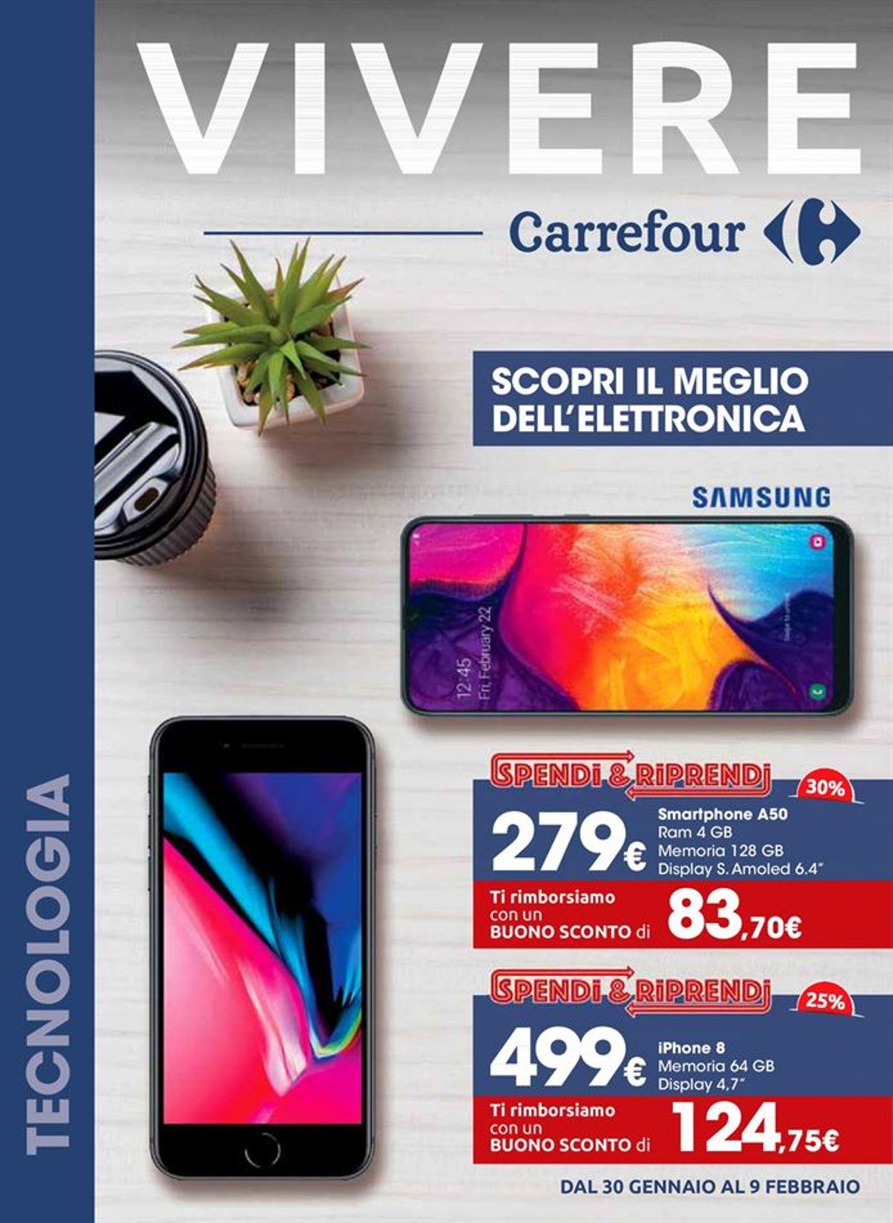 Volantino Carrefour - Offerte 30/01-09/02/2020