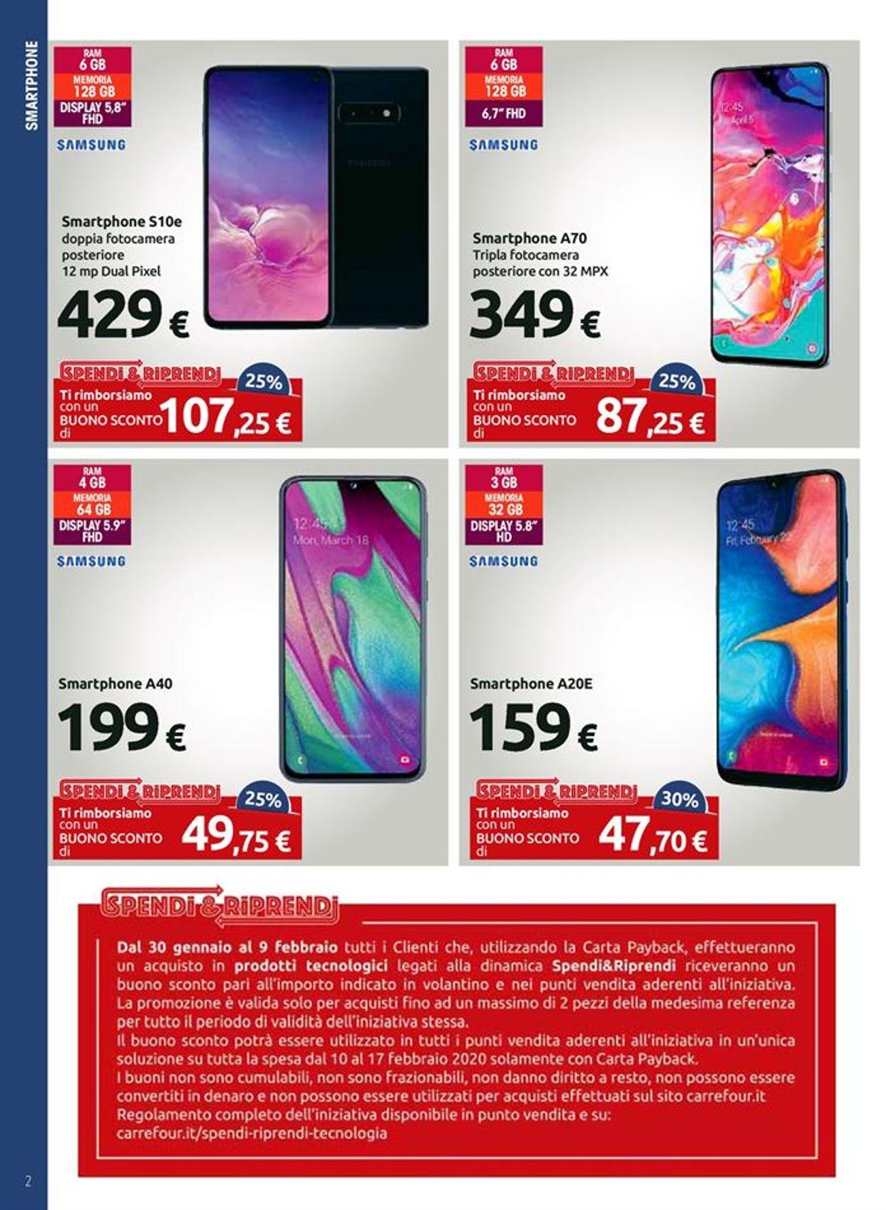 Volantino Carrefour - Offerte 30/01-09/02/2020 (Pagina 2)