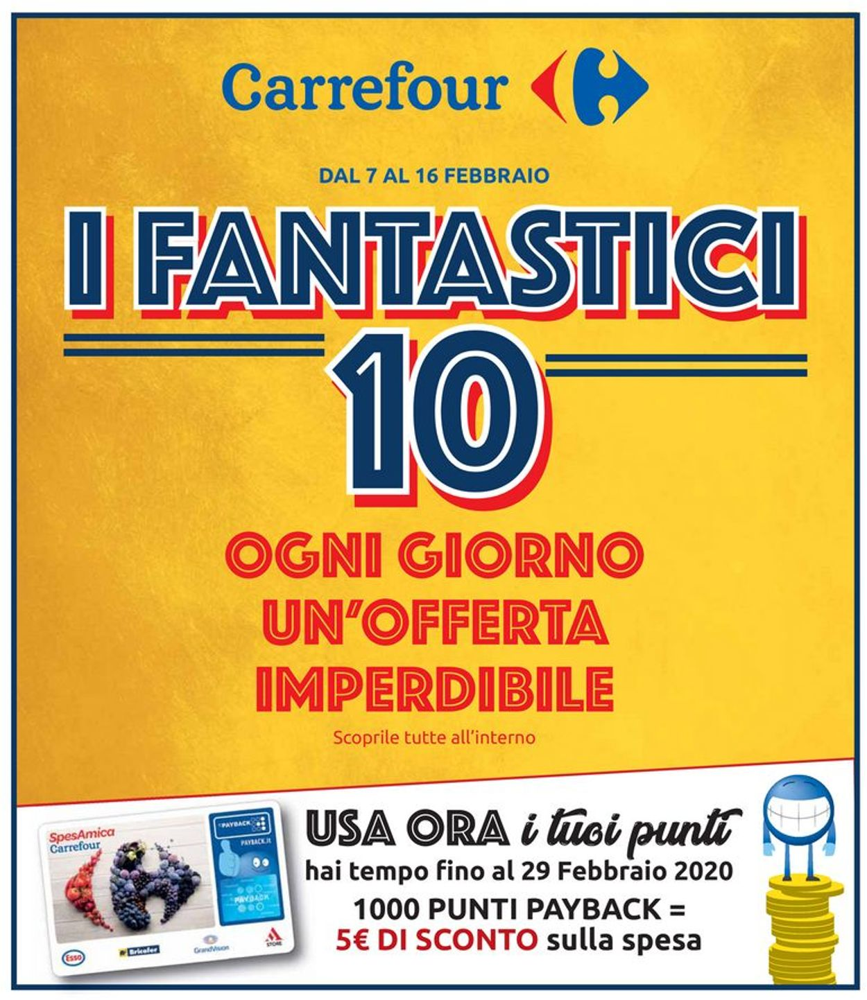 Volantino Carrefour - Offerte 07/02-16/02/2020