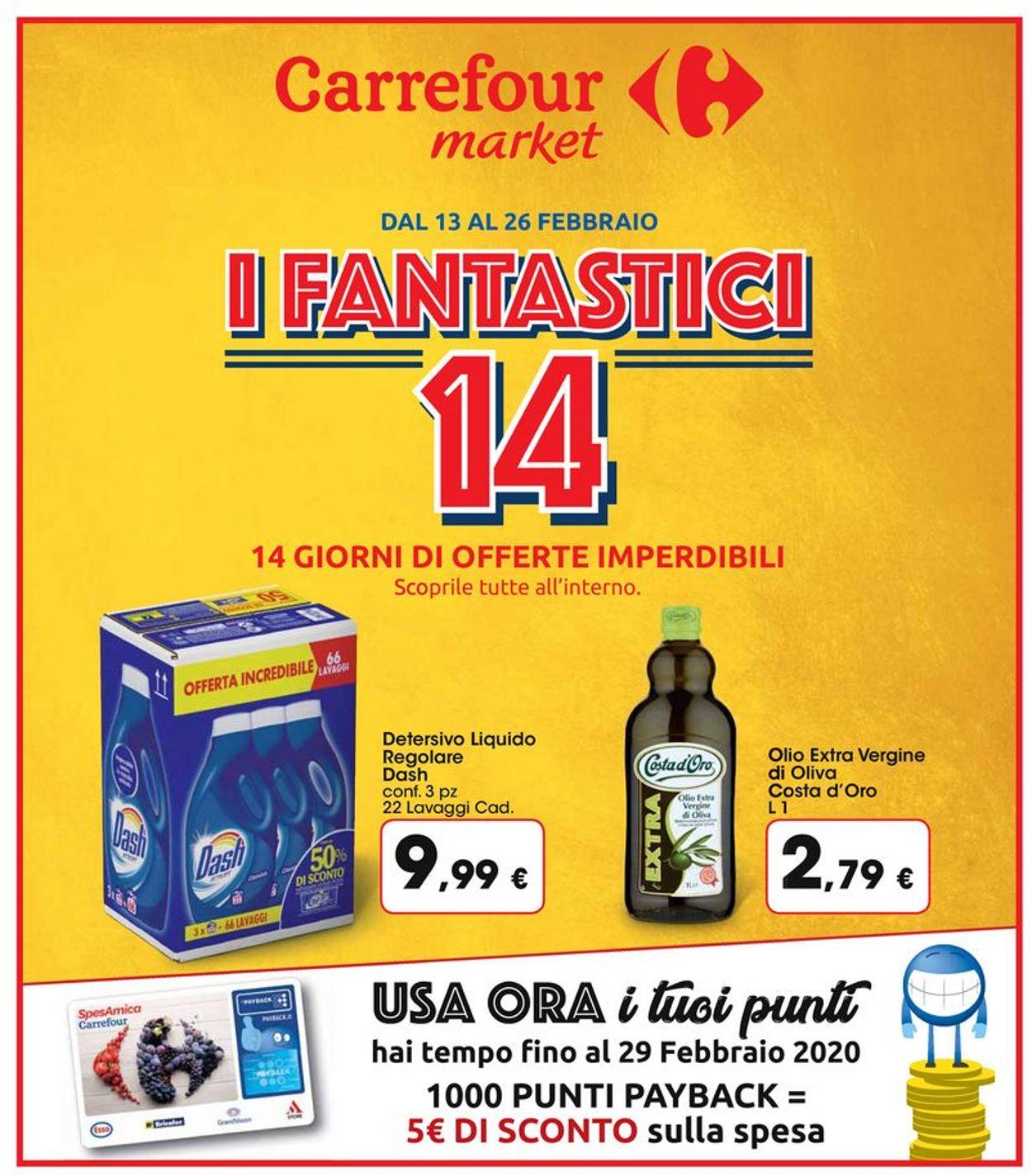 Volantino Carrefour - Offerte 13/02-26/02/2020